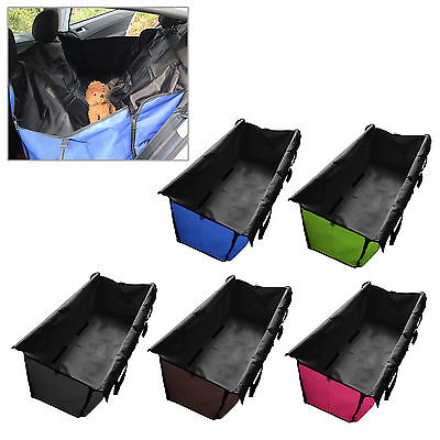Dog Cat Pet Car Rear Back Seat Cover Safety Waterproof Hammock Cover Mat Cushion