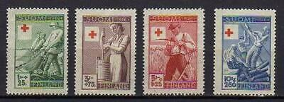 A7565) FINLAND 1946 Scott# B74/B77 MNH** RED CROSS