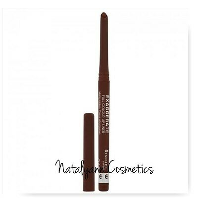 Rimmel Exaggerate Full Colour Lip Liner Twist Up -046 ULTIMATE - FREE P&P