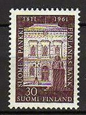 A7575) FINLAND 1961 Scott# 387 MNH** Bank of Finland