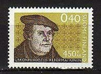 A7581) FINLAND 1967 Scott# 449 MNH** M. Luther