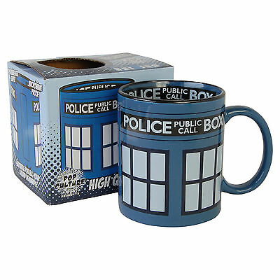Doctor Who Tardis Mug. Dr Who Cup Tea Coffee Novelty Ideal Gift for Fan