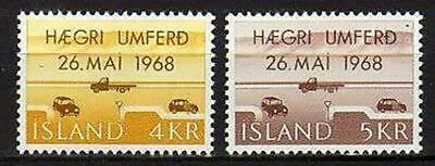 A7613) ICELAND 1968 Scott# 397/989  MNH** Righthand Driving