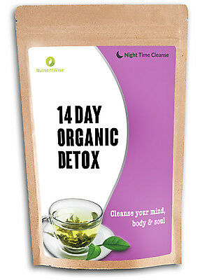 Detox Green Tea Organic Slimming Diet Tea For Weight Loss - Teatox