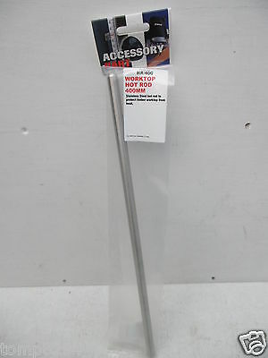 Trend 400Mm X 12Mm Stainless Steel Bar For Hot Rod Worktop Jig Hr/400
