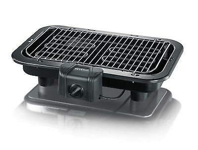 Severin Electric Barbecue Grill 2500 Watt Black