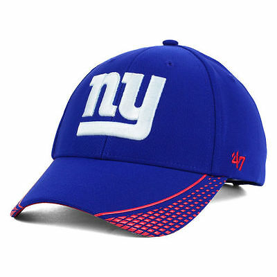 6f0c4a8cf87 New York Giants  47 Brand NFL Warhawk MVP Cap Hat Lid Adjustable Football  NYG NY