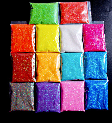 Fine Glitter Fairy Powder Matt Iridescent Holographic Nail Art Dust Professional