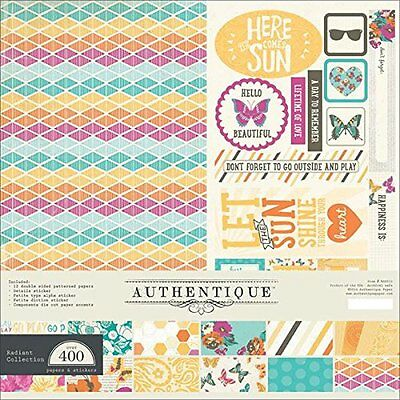 FELICITY Collection 12x12 Scrapbooking Paper Crafting Kit Authentique New