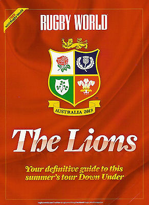 2013 British & Irish Lions Rugby Tour Guide - Rugby World