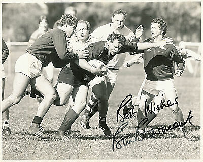 """BILL BEAUMONT, ENGLAND & BRITISH LIONS, SIGNED RUGBY PHOTO 10"""" x 8"""" (25 x 20cm)"""