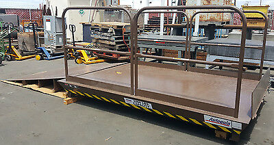Autoquip 7'x10' Scissor Dock Lift - 7,000lb Capacity w/ Approach Ramp