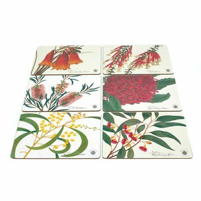 NEW Maxwell & Williams Botanic Placemats Assorted Set of 6