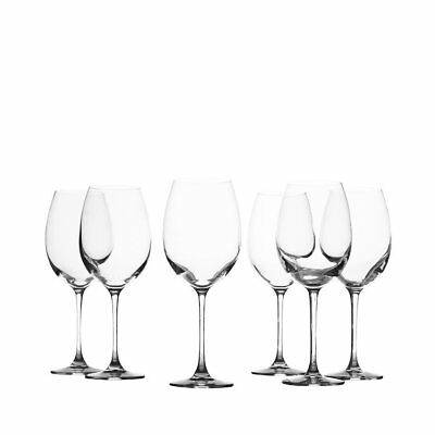NEW Maxwell & Williams Mansion Wine Glass 480ml Set of 6 (RRP $60)