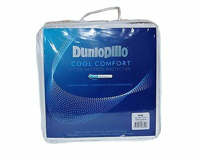 Tontine-Dunlopillo Coolmax Comfort Fitted Mattress Protector All Sizes