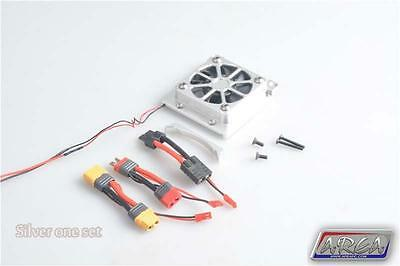 1/5 Traxxas X-Maxx Cooling Fan High Output Alloy Silver by Area RC
