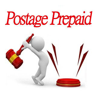 Price difference Postage Prepaid Pay for resending