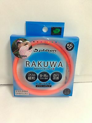 NEW FREE SHIPPING Phiten Rakuwa Magnetic Titanium Necklace S  Health Care JAPAN
