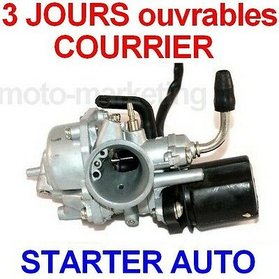 CARBURATEUR STARTER AUTOMATIQUE pour PEUGEOT LUDIX SNAKE ONE BLASTER 2 II 50