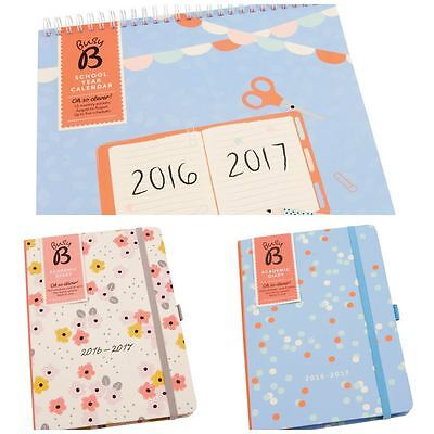 Busy B School Calendars Diaries August To August 2016 - 2017 Academic Planners