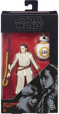 Star Wars Black Series Rey (Jakku) with BB-8 6-Inch Action Figure(SKU-A-1-3)