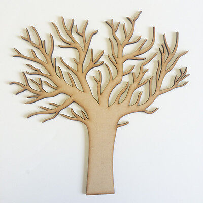 Scary Winter Tree 200x170mm Craft Embellishment MDF Laser cut wooden Halloween