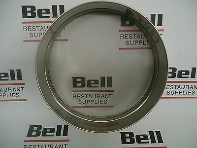 """*NEW* 10"""" x 3"""" SIEVE - STAINLESS STEEL RIM & MESH - FREE SHIPPING!"""