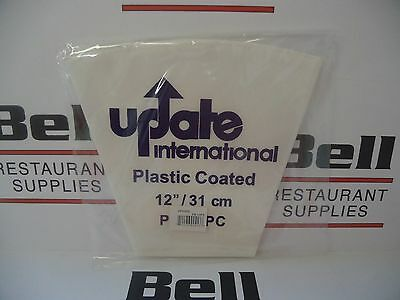 """*NEW* Update PB-12PC 12"""" Professional Plastic Coated Canvas Reusable Pastry Bag"""