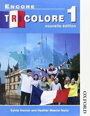 Encore Tricolore 1 Nouvelle Edition Evaluat... by Heather Mascie-taylo Paperback
