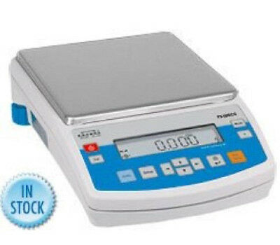 Radwag PS Precision Lab Balance,Compact Scale 3500g x 0.01g,RS 232, Auto Cal,New