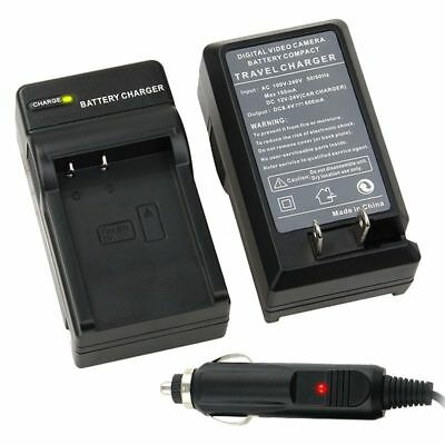 NP-BN1 Car Wall Home Charger Set for SONY Cyber-shot Camera NPBN1 N TYPE
