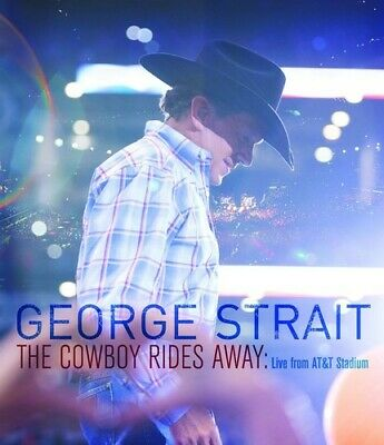 George Strait - The Cowboy Rides Away: Live From AT&T Stadium [New DVD