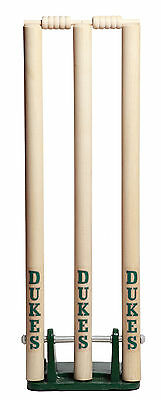Dukes Cricket Sports Accessories Free Standing Spring Return Stumps Wickets M