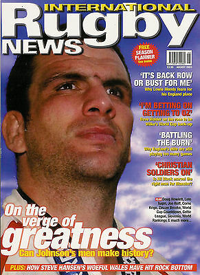 RUGBY NEWS (UK) MAGAZINE August 2003