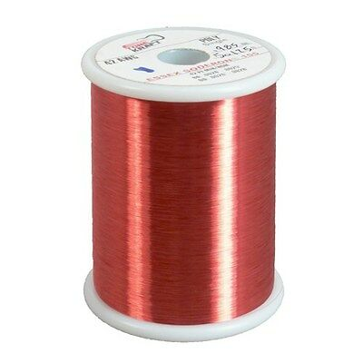 43 AWG POLY RED COPPER MAGNET WIRE 0.5 lbs MW80C (3)