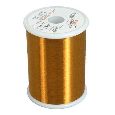 43 AWG HEAVY FORMVAR COPPER MAGNET WIRE 1.0 lbs MW15C (3)