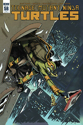 Tmnt Ongoing #58 1:10 Incentive Variant Cover