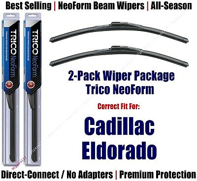 2pk Super-Premium NeoForm Wipers fit 1986-1991 Cadillac Eldorado - 16190x2