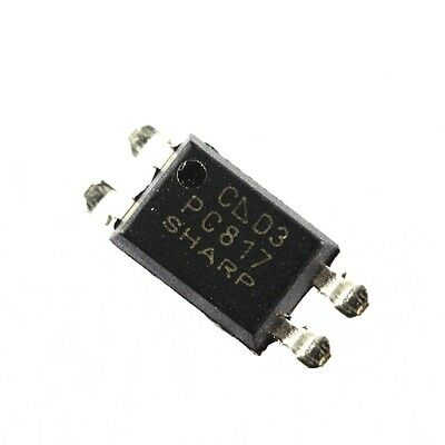 10PCS PC817 PC817C PC817/C PC817 SHARP SOP-4 Precise SMD Optocoupler