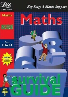 Key Stage 3 Survival Guide: Maths Age 13-14 (Key St... by Hunt, Sheila Paperback