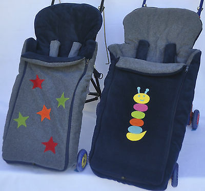 Cozyosko Reversible Pram Bag Foot Muff