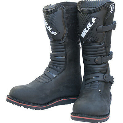 Wulfsport adults offroad trials riding boots all sizes black