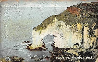 Northern Ireland Postcard Wishing Arch Whiterocks Portrush  L0 013