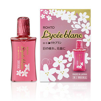 Rohto Lycee Blanc Eye Drops 12mL Cool 3 Japan