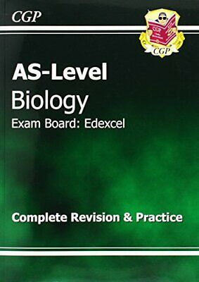 AS-Level Biology Edexcel Complete Revision & Practice ... by CGP Books Paperback