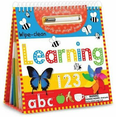 Wipe-Clean Learning Easel by Stratford, Charlotte Hardback Book The Cheap Fast