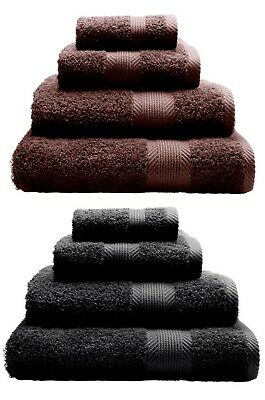Hand & Bath Towels 100% Cotton - Catherine Lansfield OR 5 Piece Set Many Colours