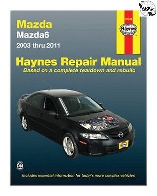 HAYNES Car Manual - Mazda 6 (2003-2011) - 61043A