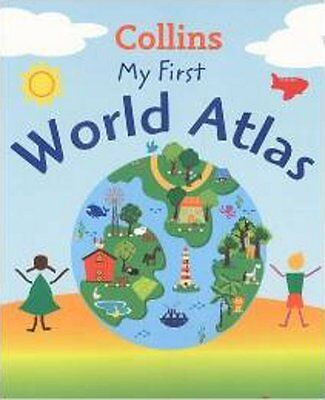Collins My First World Atlas, New,  Book