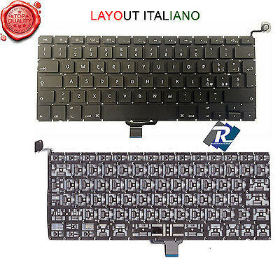"TASTIERA Italiana per Apple Macbook Pro 13"" Unibody Aluminum A1278 2009 A 2013"